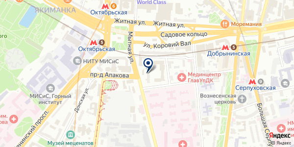 Пея на карте Москве
