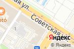 Схема проезда до компании Центральное агентство недвижимости в Туле