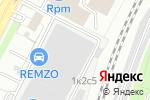 Схема проезда до компании Профконтракт в Москве