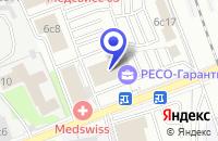 Схема проезда до компании ИОНТЕК в Москве