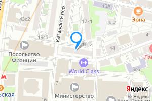 Комната в двухкомнатной квартире в Москве 2-й Спасоналивковский переулок, 16