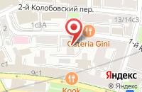 Схема проезда до компании Кубус групп в Москве