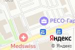 Схема проезда до компании Medswiss в Москве