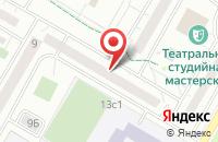 Схема проезда до компании Геопрофиль в Москве
