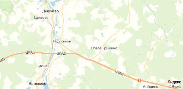 Сазонки на карте
