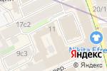 Схема проезда до компании Friday в Москве