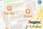 Схема проезда до компании Sound rooms в Москве