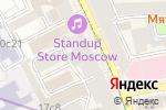Схема проезда до компании Интеллект-Тур в Москве