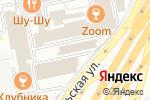 Схема проезда до компании Московские лица в Москве