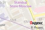 Схема проезда до компании Магазин русских сувениров в Москве