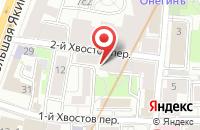 Схема проезда до компании Контракт-Металл в Москве