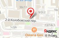 Схема проезда до компании Альбион в Москве