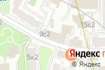 Схема проезда до компании Trainings.ru в Москве