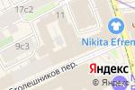 Схема проезда до компании Золотой компас в Москве