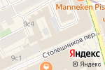 Схема проезда до компании КЛАБ БИСПОК в Москве