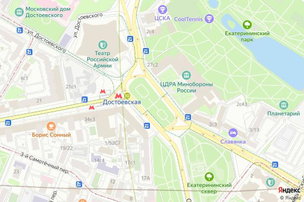 Ремонт телевизоров Суворовская площадь на яндекс карте