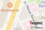 Схема проезда до компании N.a.i.l.s в Москве