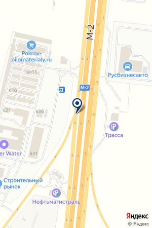 КАФЕ У ОБОЧИНЫ на карте Подольска