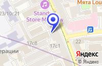 Схема проезда до компании ИНФОРМАЦИОННОЕ АГЕНТСТВО ИМА-ПРЕСС в Москве