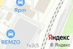 Схема проезда до компании B2B Studio в Москве