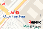 Схема проезда до компании Yves Delorme в Москве