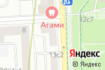 Схема проезда до компании Алексеевский в Москве