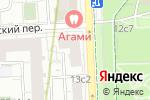 Схема проезда до компании Presto.Promo в Москве