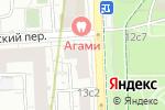 Схема проезда до компании Для тебя в Москве