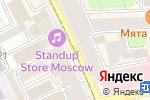 Схема проезда до компании Центральная поликлиника №1 в Москве