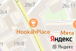 Схема проезда до компании ЮПИТЕР в Москве