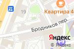 Схема проезда до компании Ферма на полянке в Москве