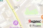 Схема проезда до компании Jeffrey`s Coffee в Москве