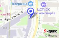 Схема проезда до компании ПТФ БИГ БАГ ЦЕНТР в Москве
