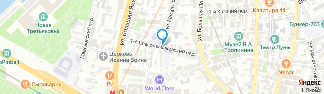 переулок Спасоналивковский 1-й