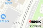 Схема проезда до компании Комфорт в Москве
