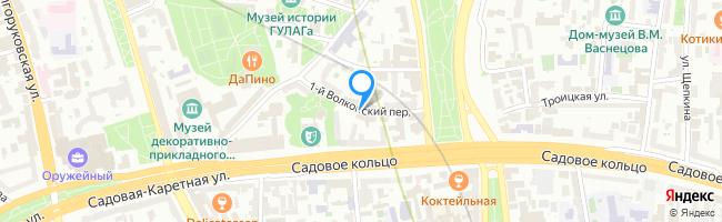 переулок Волконский 1-й