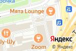 Схема проезда до компании Milafka в Москве
