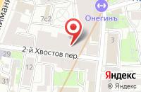 Схема проезда до компании Экоинвестстрой в Москве