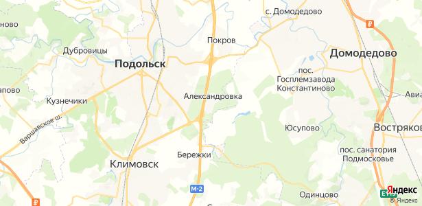 Александровка на карте