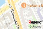 Схема проезда до компании LikeHome в Москве