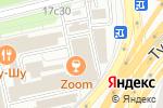 Схема проезда до компании Design Italiano в Москве