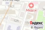 Схема проезда до компании Хостел Рус в Москве