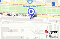 Схема проезда до компании МЕБЕЛЬНЫЙ МАГАЗИН АВГУСТ-СВ в Москве