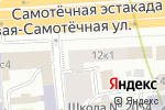 Схема проезда до компании Эвоинфинити в Москве