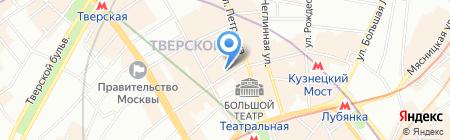 Массимилиано на карте Москвы