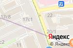 Схема проезда до компании Peperoni в Москве