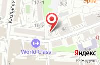Схема проезда до компании Виктория-Интерком в Москве