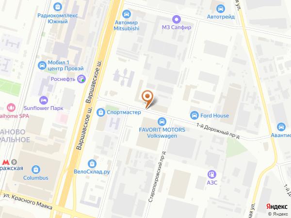 Остановка «Пищевой колледж», 1-й Дорожный проезд (1008634) (Москва)