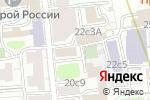 Схема проезда до компании Юридический центр по Москве и Московской области в Москве