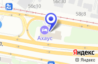 Схема проезда до компании ТПФ ALL DOORS в Москве